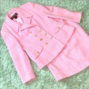 Escada Margaretha Ley Pink 2 Piece Suit